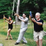 Tai Chi Sword Form, Desert Sage Tai Chi classes, Jill Basso Instructor, Santa Fe, New Mexico
