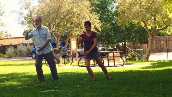 Meditation in movement - Jill Basso, Desert Sage Tai Chi, Santa Fe