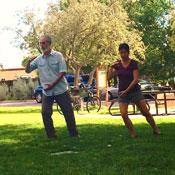 Private Tai Chi lesson with Jill L. Basso, Santa Fe, Desert Sage Tai Chi